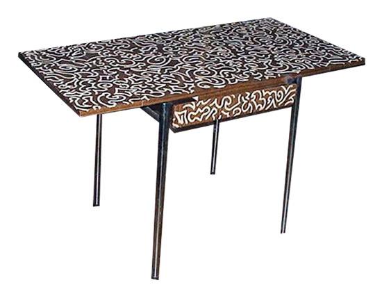 Table défoncée, 2002