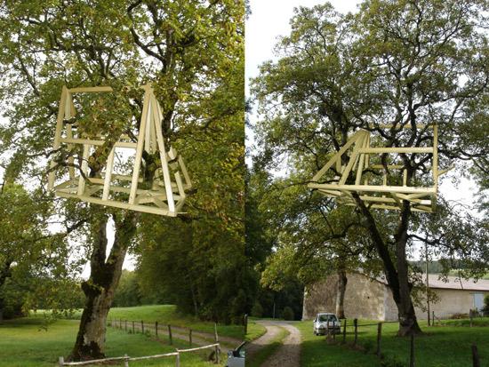 Photomontage /La thuillère, commune d'Auberive 2004